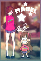 Mabel (Gravity Falls) - Rariaz Style by Rariaz