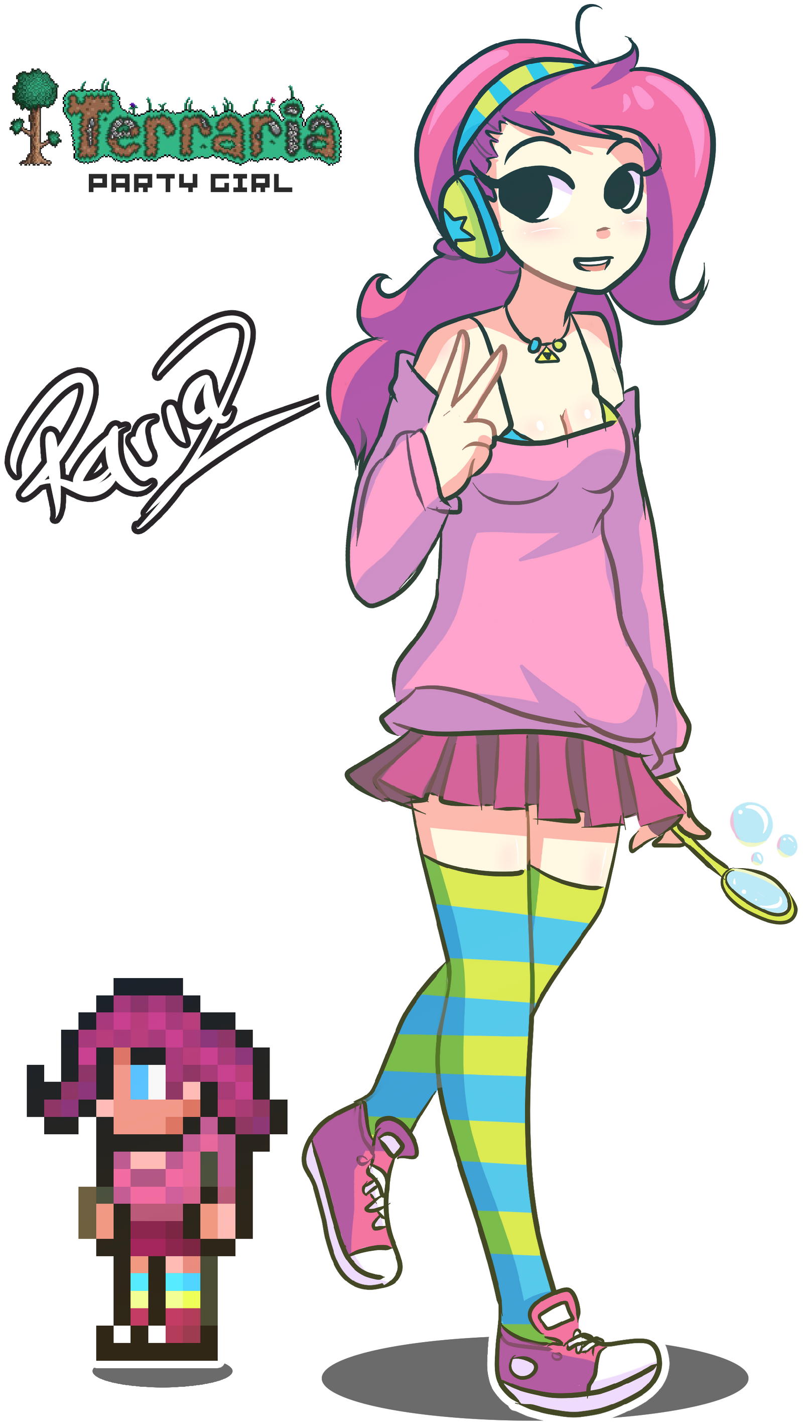 party girl terraria