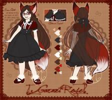 .:REF: Garnet Rose: Persona:. by BritishMindslave