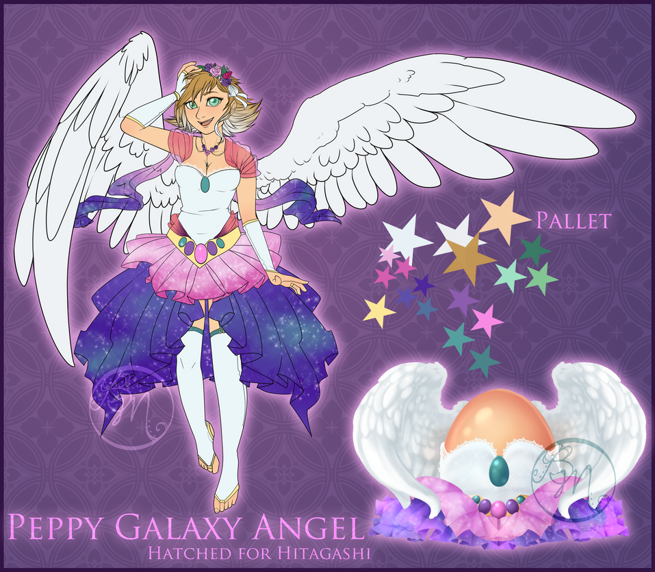 .:Custom: Peppy Galaxy Angel:. by BritishMindslave