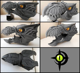 Halo Skirmisher Head Cast W.I.P.