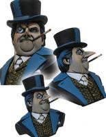Penguin Bust by GeoffreyT