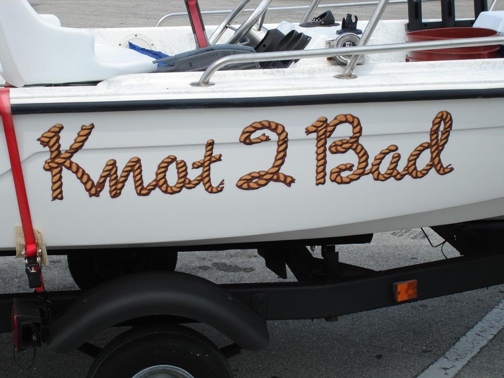 Knot  2 Bad Boat Name