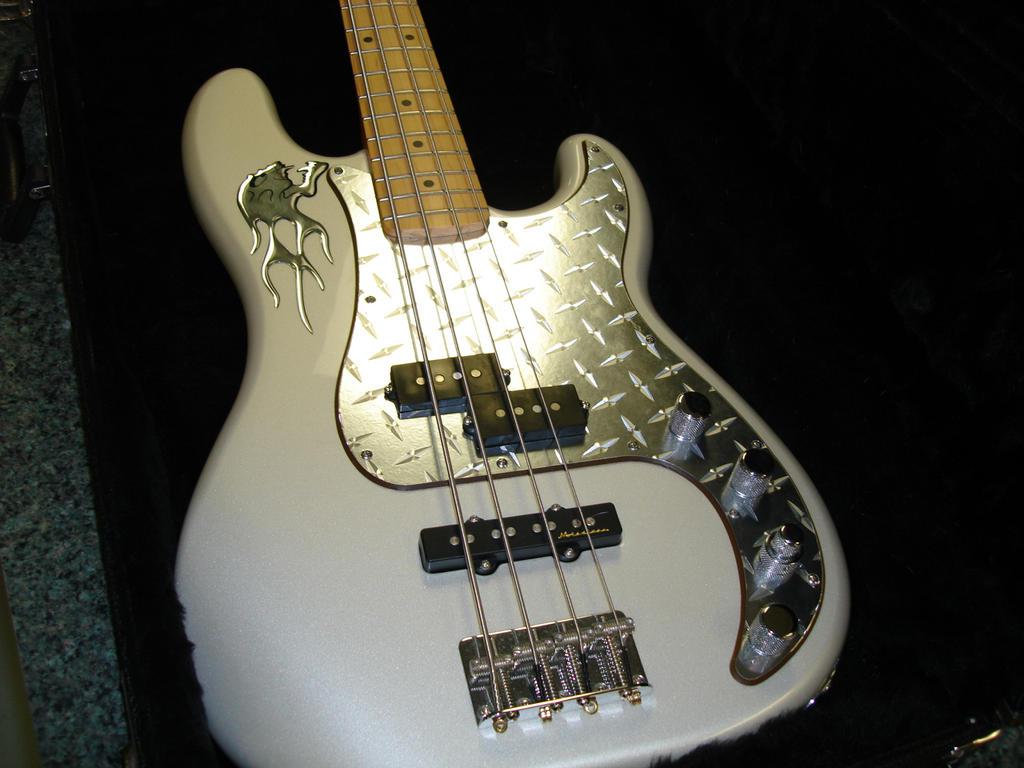 Bass Guitar Pickguards