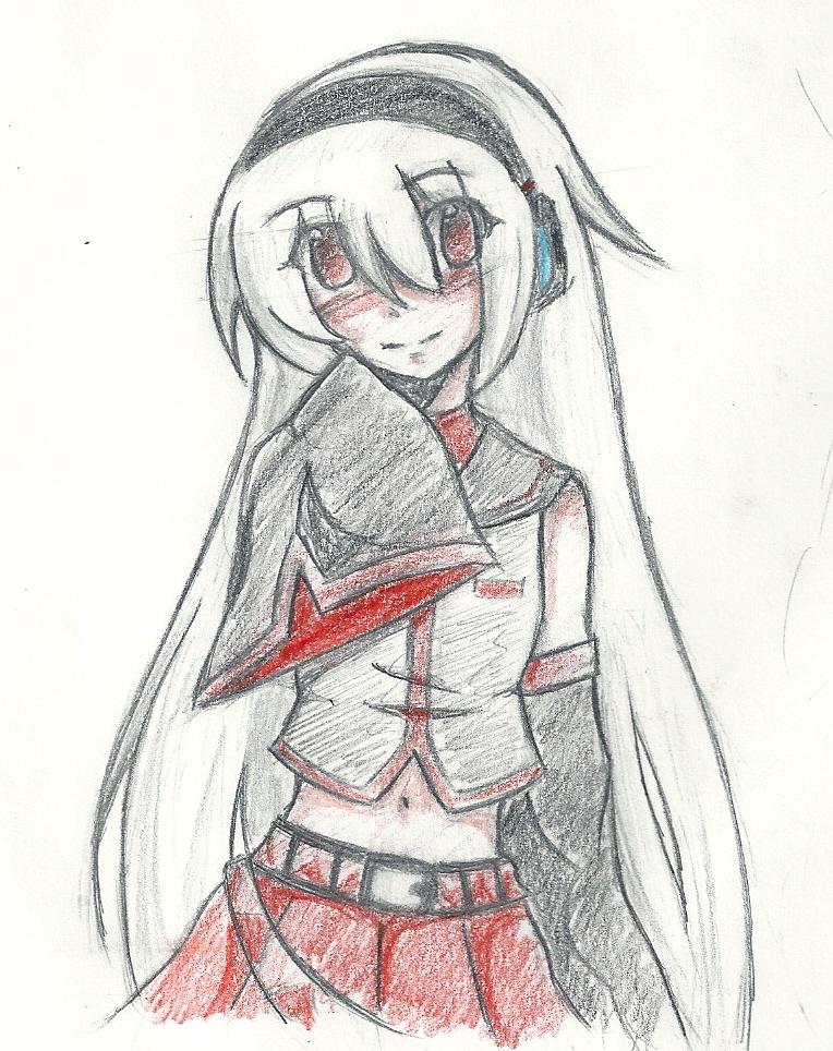 I drew Sukone Tei by SilverXxXSakura