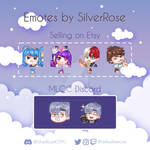 Selling Premade Twitch Emotes 03