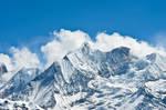 Clouds over Annapurnas 2