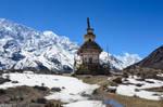 Annapurna Circuit - Day 5 - Stupa on the Pass