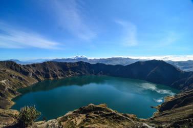 Quilotoa - Caldera view by LLukeBE