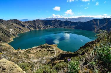 Quilotoa - Caldera global view by LLukeBE