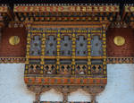 Punakha - Dzong window by LLukeBE