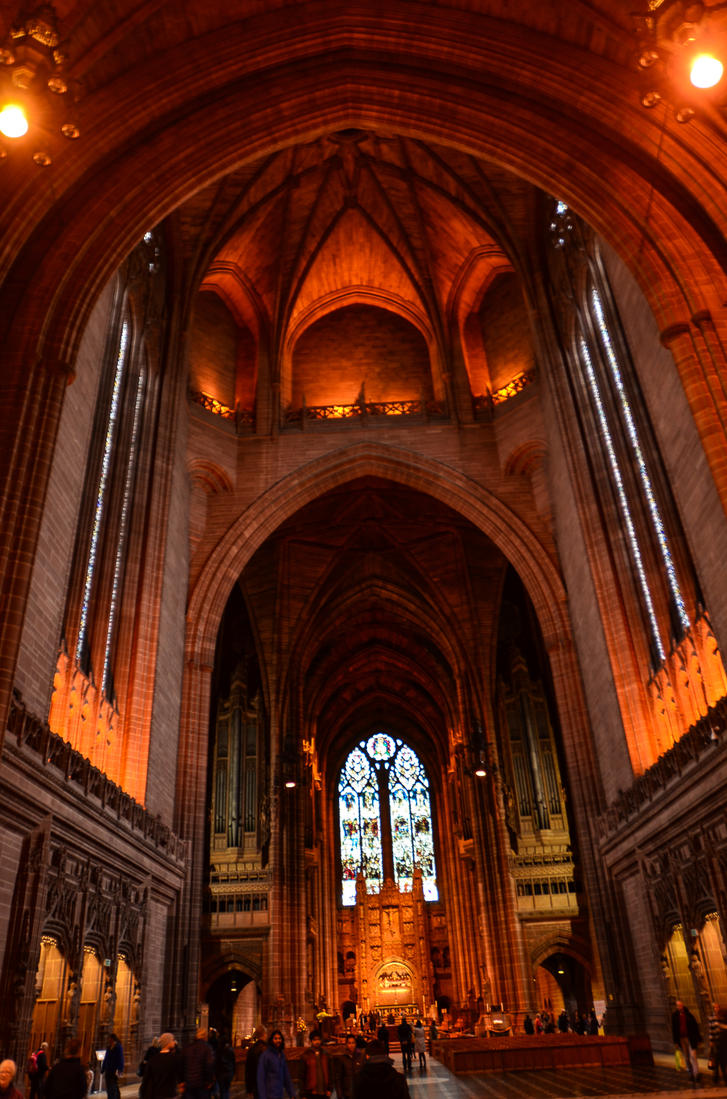 Liverpool - Angican Cathedral by LLukeBE