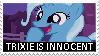 Trixie Is Innocent Stamp by GrapefruitFace1