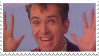 Peter Gabriel 'Widest  Smile' Stamp by GrapefruitFace1