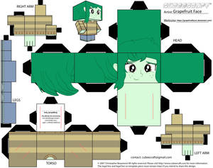 Wallflower Blush Cubeecraft