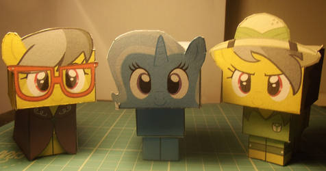 Cubee Daring Do, Trixie and AK Yearling