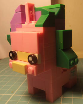 Starlight Glimmer Custom Lego Brickhead by GrapefruitFace1