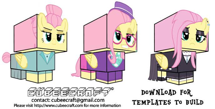 Cubeecraft Fluttershy FITYMI Collection