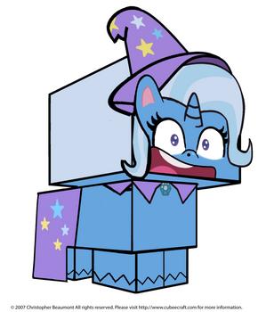 Trixie Lulamoon Cubee 3D