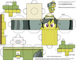 Daring Do Cubeecraft by GrapefruitFace1