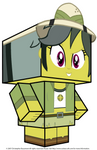 Daring Do Cubee 3D by GrapefruitFace1