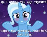 Trixie's Pogchamp (Trixie Lulamoon - MLP FiM)