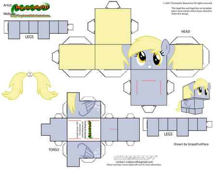 Cubeecraft Derpy