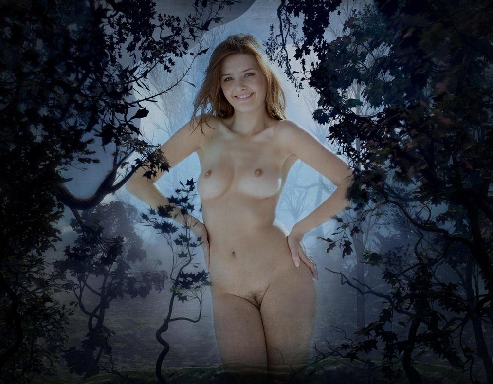 Hazy-woods Misty by skixxx