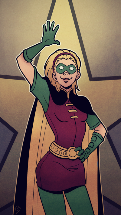 Forever a Robin by dhauber