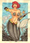 Black Widow mermaid