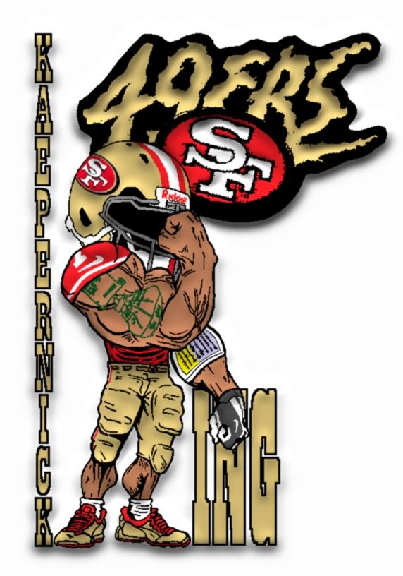 Kaepernicking Logo 49ers kaepernicking by
