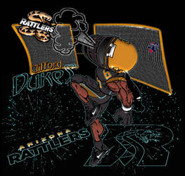 Arizona Rattlers - Clifford Dukes