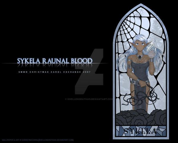 Sykela - High Priestess by Khellendrathas