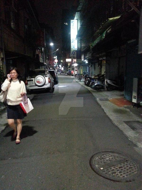 Taiwan Streets by Khellendrathas