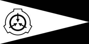 SCP Foundation flag