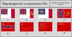 Flags of Communist CSA