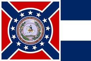 Standard of the President of Dixie by AlternateHistory