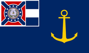 Naval Ensign of the President of Dixie