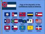 Flags of the Republics of the CSA