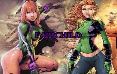 Fairchild by BloodRayne3125