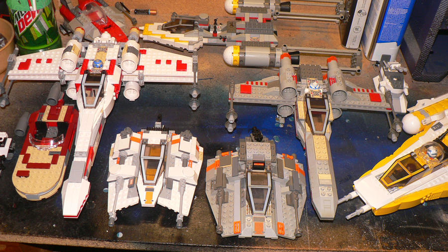 Star Wars: Lego Collection Pt3 by wingzero-01-custom