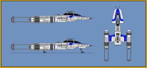 BTL-S3 Y-Wing Fighter Bomber Armored