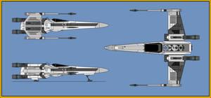 T-65 XJ3 X-Wing Fighter by wingzero-01-custom
