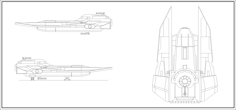 VT-49 Decimator Lineart