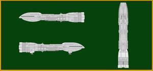 Rendili Dreadnaught Class Heavy Cruiser
