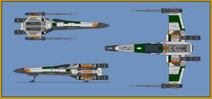 T-65 Phoenix Leader by wingzero-01-custom