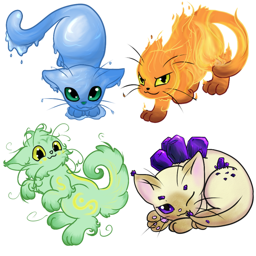 Elemental Cats Related Keywords - Elemental Cats Long Tail ...