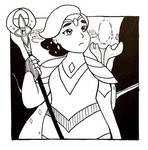 Inktober2019: Queen of Bright Moon