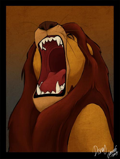 The Lion King Mufasa Roar