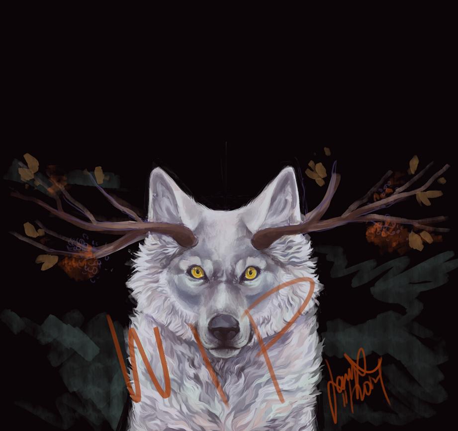 WIP-WOLF by jasmiri